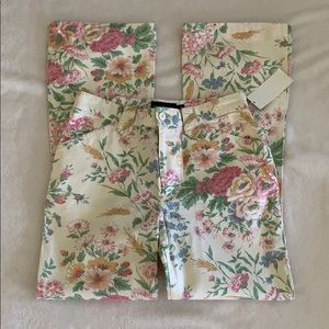 RALPH LAUREN GIRL'S FLOWER JEANS